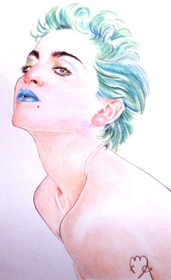 Madonna by Colorfarma